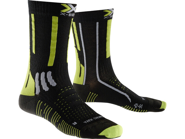 X-Bionic Effektor Trekking - Calcetines Hombre - amarillo/negro